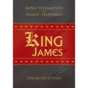 NT King James com Salmos e Provérbios - Edição de Estudo
