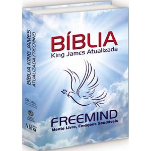 Bíblia King James Atualizada FREEMIND - Capa Dura Colorida